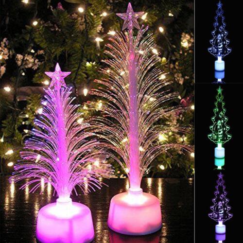 Multicolor Changing LED Battery Light Christmas Tree Kids Room Random Lamp Night