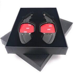 Echt-Carbon-Schaltwippen-Shift-Paddle-Audi-2004-2012-A1-A3-A4-A5-A8-TT-Typ-B