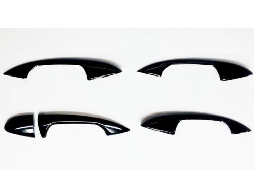 Mercedes W205 C Class Black door handle Covers Saloon Sedan Estate Wagon LHD