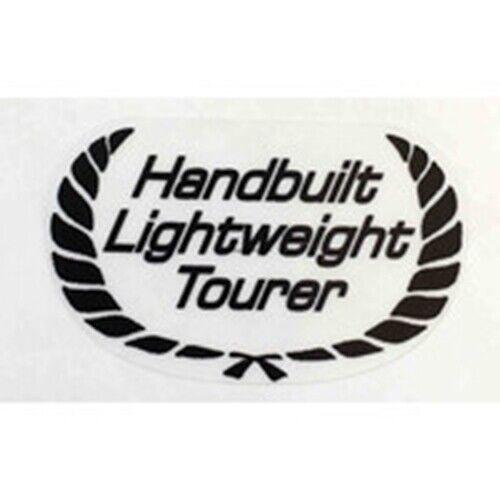 """RALEIGH /""""Handbuilt Lightweight Tourer/"""" seat tube sticker."""