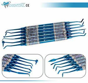 6-Pcs-Dental-Composite-Filling-Instrument-Blue-Titanium-Coated-Restorative-Kit
