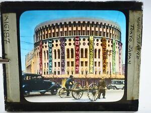 Film-Teatro-Giappone-Mano-Colorato-Colorato-Magic-Lantern-Museo-Scorrimento