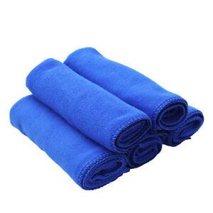 10Pcs Large Microfibre Cleaning Car Kitchen Detailing Soft Cloths Wash Towel