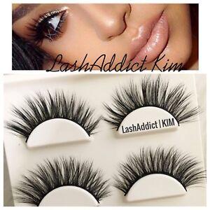 7e5d2e6340c Wispy Mink Lashes Eyelashes 3D Flutter 3 pairs Makeup Extension • US ...