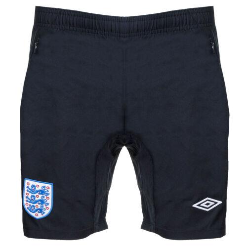Boys Umbro England Shorts Matchday Woven Youth Football Training Size