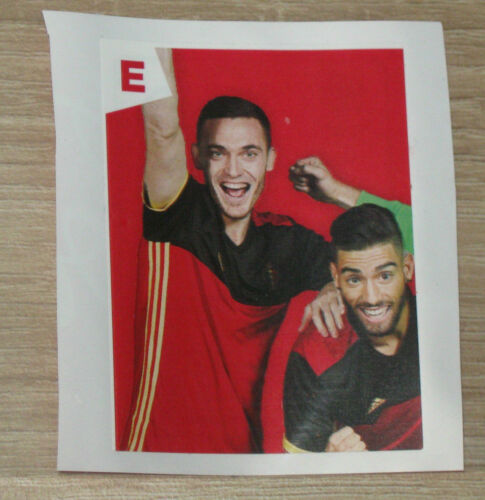 "België PANINI Euro 2016 Coca-Cola Sticker /""E/"" Vermaelen // Carrasco Belgium"