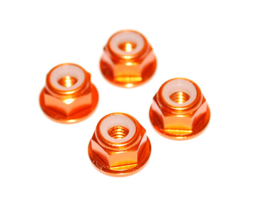 1//10 Rc Orange Wheel Nuts For Tamiya Grasshopper Holiday Buggy Lunchbox Frog