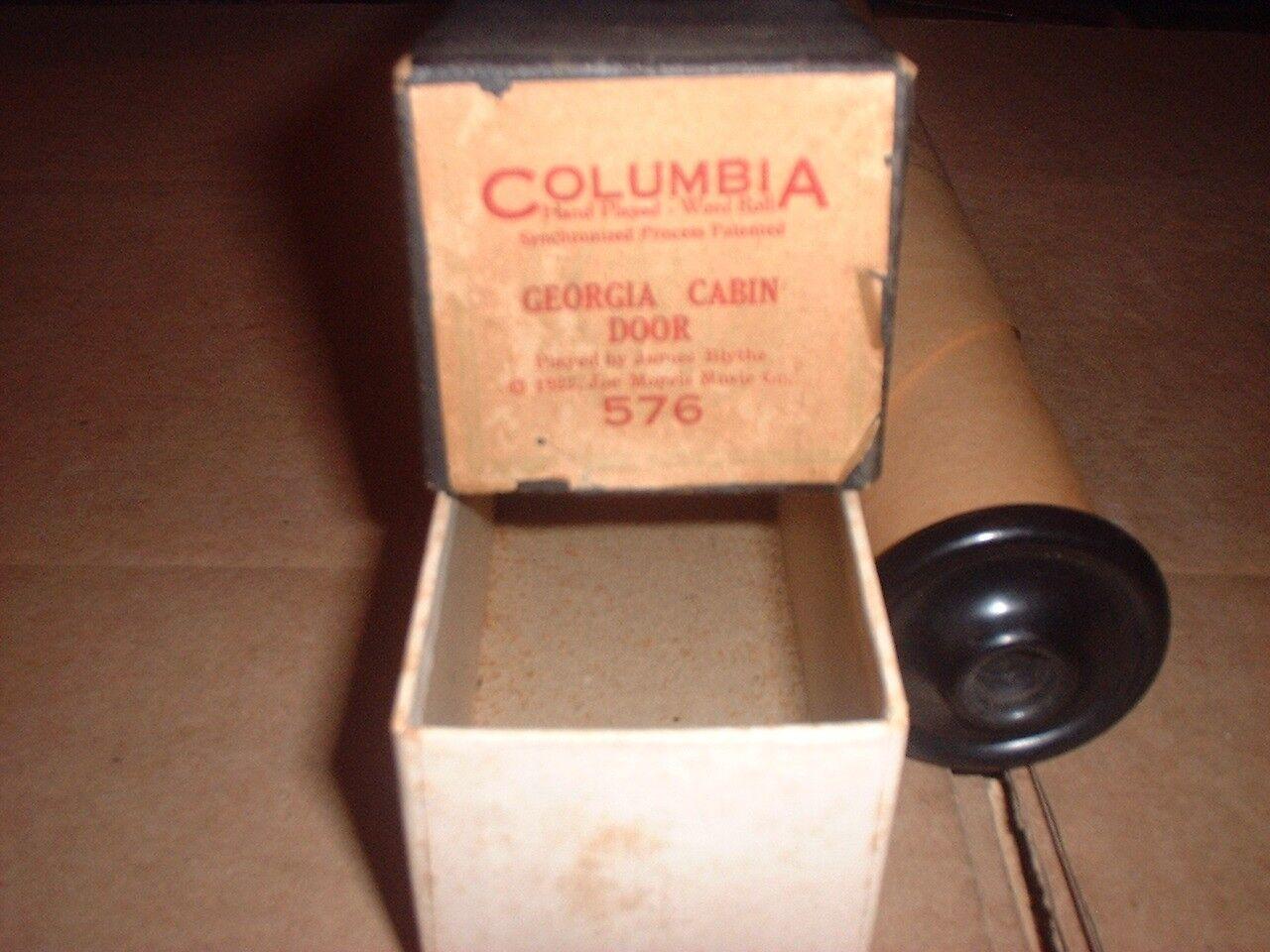 Columbia 576 James Blythe, Georgia Georgia Georgia Cabina Puerta todos original@1922 + Extra Blythe 7f03e1