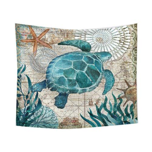 Mountain Sunset Tapestry Plant Wall Hanging Tortoise Shark Blanket Bedroom Decor