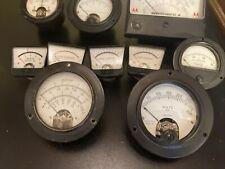 Vintage Meter Gauge Lot Untested As Is