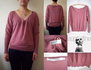 139 Designer 10 Superfine et 38 soyeux en Nouveau fin maille Pull Out de 2 € coton rose Sold gaqEUwU