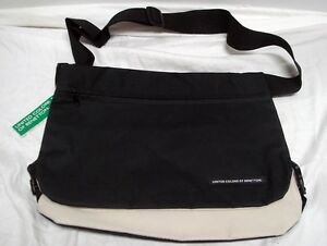 Image Is Loading United Colors Of Benetton Messenger Shoulder Bag Reversi