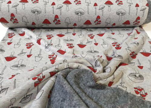 Alpenfleece doubleface Alpes Fleece Sweat Shirt substances 2 mutuellement Enfants Tissu