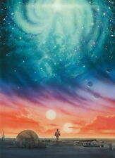 STAR  WARS  I  POSTER  -CELEBRATION 2007- ART  JOHN ALVIN - UNIQUE  -ONLY  $4.99