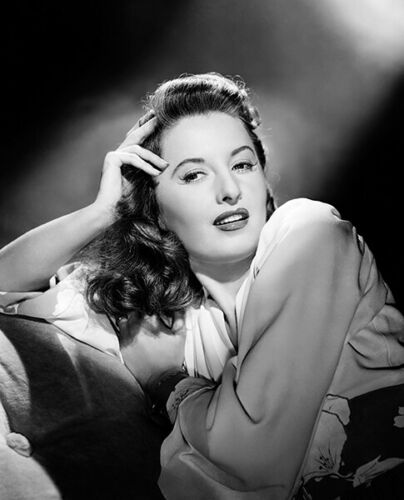 Barbara Stanwyck Movie Star Portrait Poster