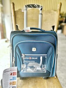Swissgear Checklite Carry On Underseat Luggage Teal 721427022078 Ebay