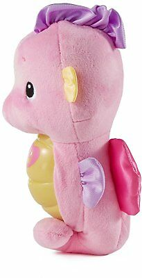 NEW Fisher Price Soothe and Glow Seahorse Pink FREE SHIPPING