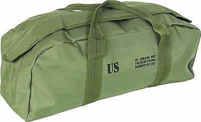 US Army Abrams M1 Reproduction Green Tool Fishing Shooting Holdall Kit Bag