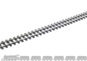OO9/HOe Mainline Flexible Tracks Peco SL-404 - wooden sleepers and code 80 rail