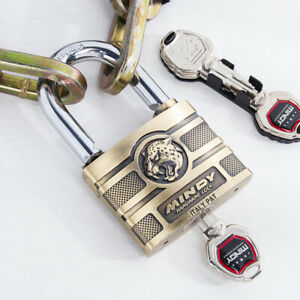 MIndy-60mm-Zinc-Alloy-Anti-Theft-Security-Padlock-Latches-Lock-Key-Antiques-Lock