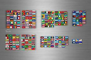 Tabla Adhesivo Pegatina Bandera Países Almacenamiento Edad Sello Mundo r2