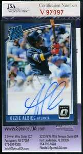 Ozzie-Albie-2018-Donruss-Optic-Rookie-Jsa-Coa-Autograph-Authentic-Hand-Signed