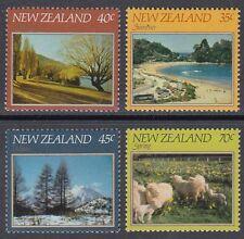 New Zealand 1982 ** Mi.845/48 Landschaften Landscapes [sq6881]