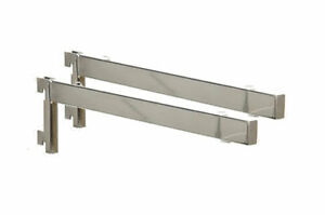 image is loading - Glass Shelf Brackets