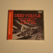 DEEP PURPLE - Machine head live 1972 - 1999 JAPAN DVD