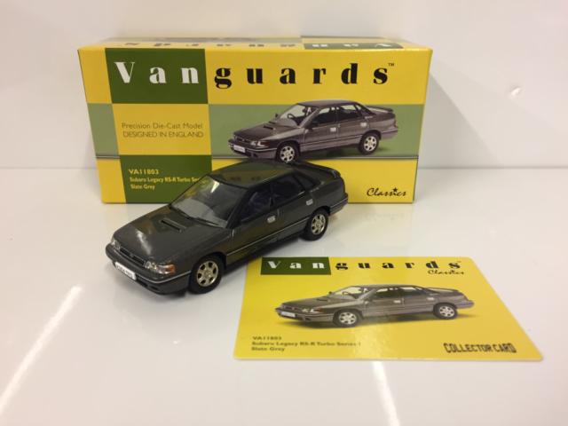 Corgi VA11803 Subaru Legacy R5-R Turbo Series 1 Slate Grey Scale 1:43