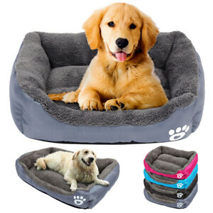 Dog-Bed-Mattress-for-Large-Dogs-Warm-Fleece-Cushion-Sofa-House-Kennel-Crate-Mat