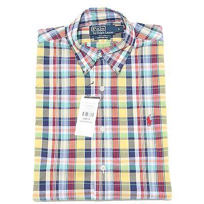 35706 camicia RALPH LAUREN camicie uomo shirt men manica corta