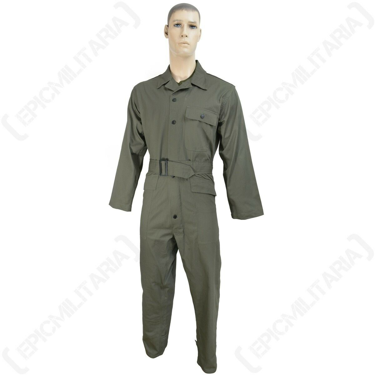 Repro WW2 American Army HBT Tanker Suit - All Overalls Größes WWII Kombi Overalls All Trousers ed1449