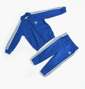 e7914f0c6 Image is loading Adidas-superstar-tracksuit-kids-baby-tracksuit-sport-2er-