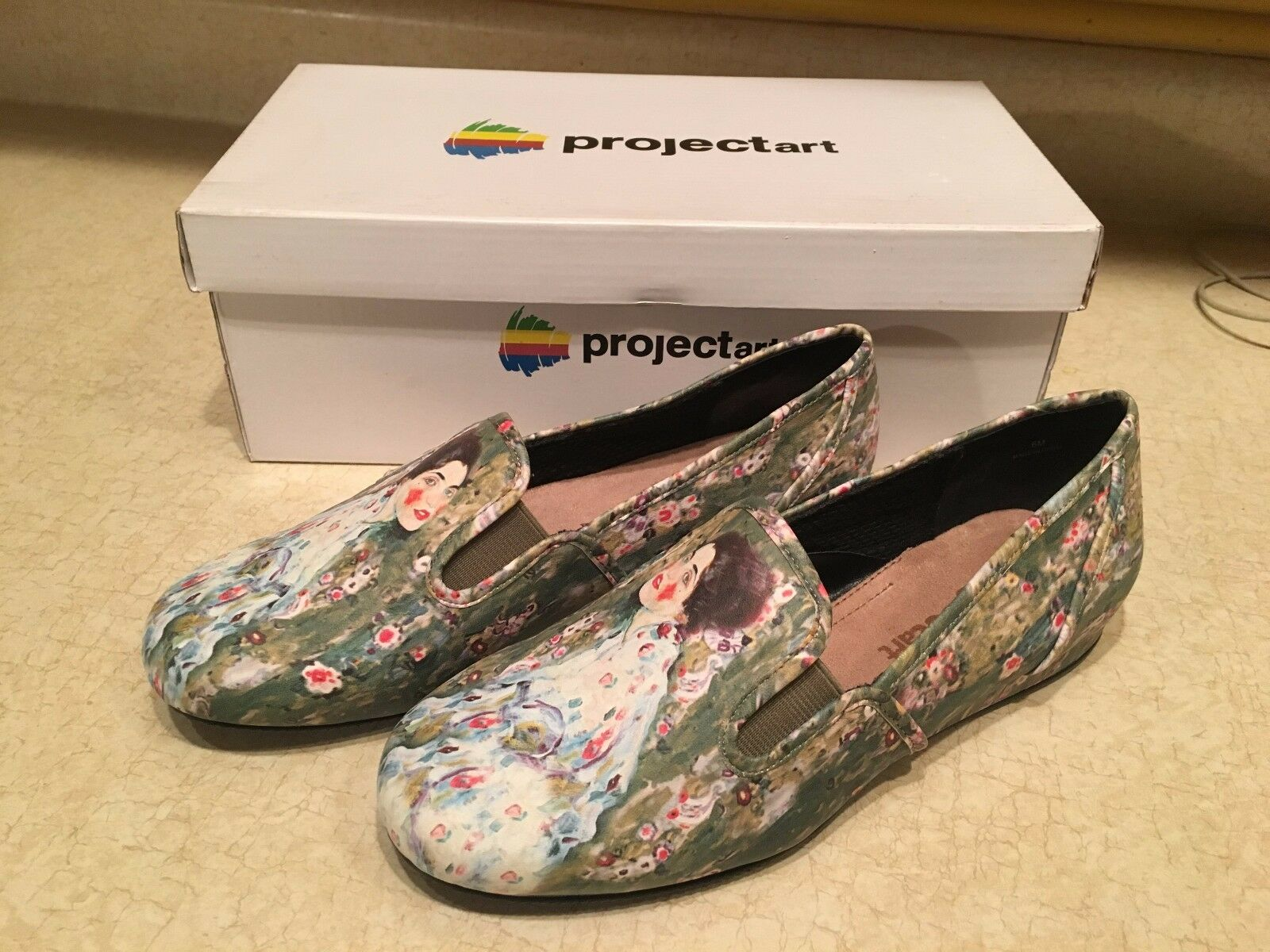 NEW ProjectArt PORTRAIT OF A LADY Loafer shoes in the Original Box Size 6 M