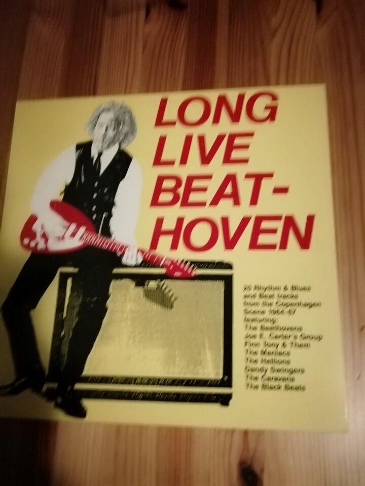 LP, Dansk Rock Div. Kunstnere, Long Live Beathoven