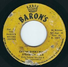 "Stranger Cole / Tommy McCook / Herman Marquis - Crying Every Night - 7"" 45T Rare"