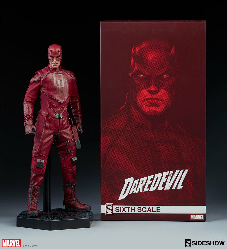 Marvel DAROTEVIL Sideshow Collectibles 1:6 Action Figure_100344_SEALED SHIPPER
