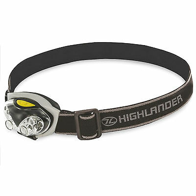 Spark 4+2 LED Camping Fishing DIY Military Army Headlamp Head Torch White Red