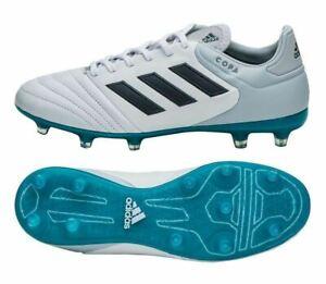 Adidas Copa 17.2 Fg Leder Fußball Stollen Stiefel WeißGrau