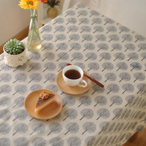 Minimaliste-Tissu-Theatral-Nappes-Table-Basse-Ordinateur-Bureau-Nappe-Napperon