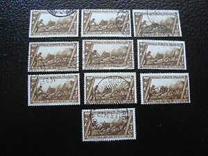 Italy-Stamp-Yvert-and-Tellier-N-305-x10-Obl-A11-Stamp-Italy