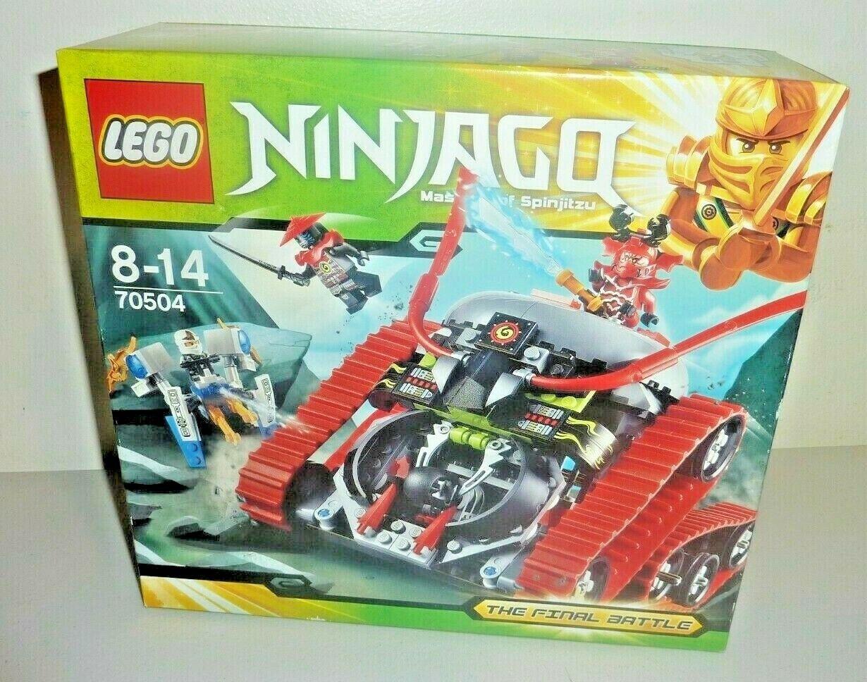 Lego ninjago 70504 garmatron final battle new sealed 2013