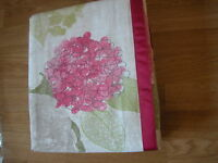 Next Pink Flourish Floral Eyelet Lined Curtains 53x54