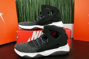 30d9a340156e Nike Air Flight Huarache Ultra Black Black-White-Volt 880856 001 ...