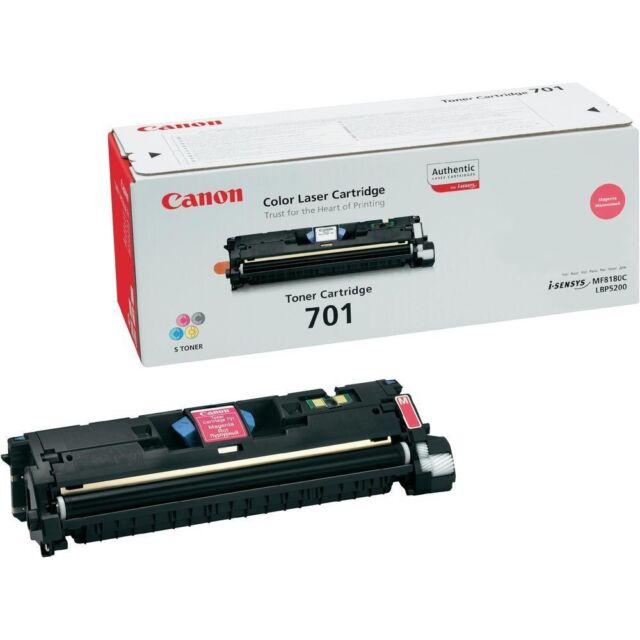 Original Canon 701 Toner Magenta 9285a003 Mf8180c Lbp5200 A-Ware