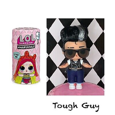 LOL Surprise Doll Makeover Series #Hairgoals Wave 2 •TOUGH GUY•Color Changer NEW