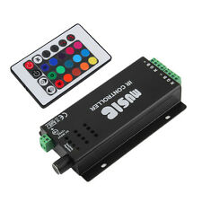 24 Key Music IR Remote Controller Sound Sensitive for RGB LED Strip Light E0