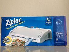 Ziploc Vacuum Sealer System V203. Food Meat sealer Storage. MSRP $50