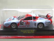 Ferrari 512 BB LM JMS Racing 1979 hachette 1:43 Diecast Model Car Vol.71